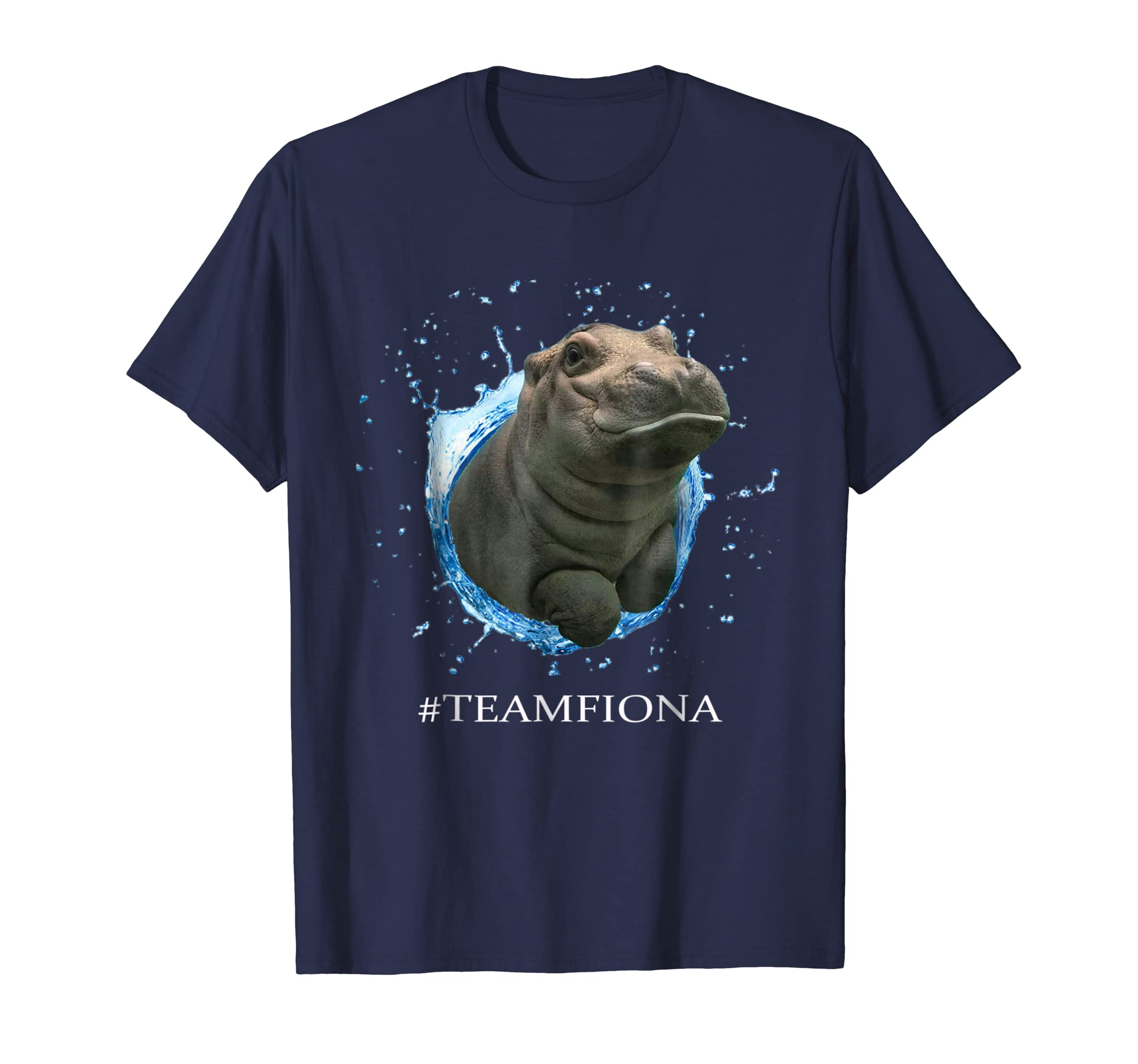 Fiona The Hippo Cute Funny Gift Tshirt-azvn