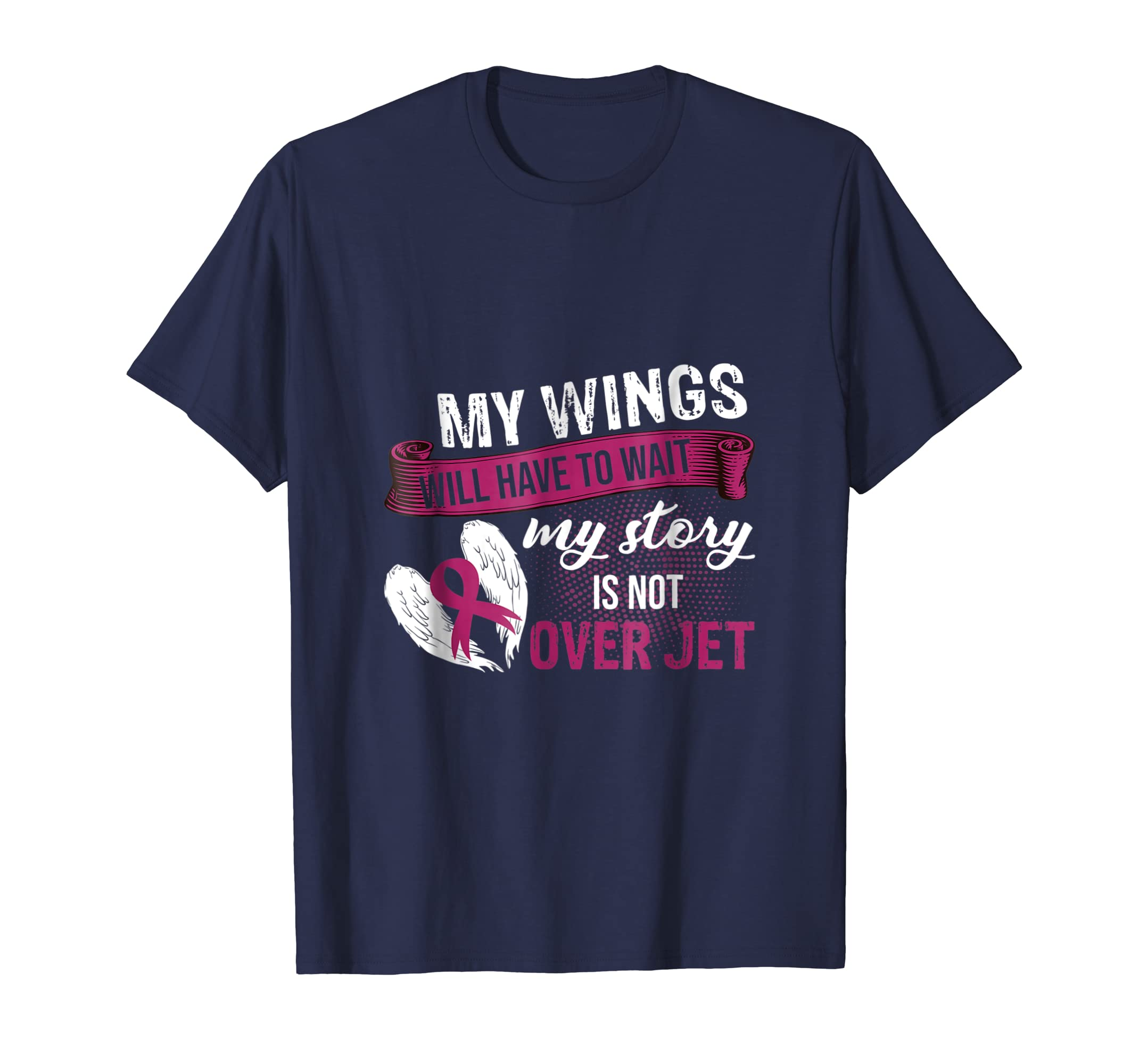 Breast Cancer Awareness   My Story Is Not Over Yet tshirt-ln
