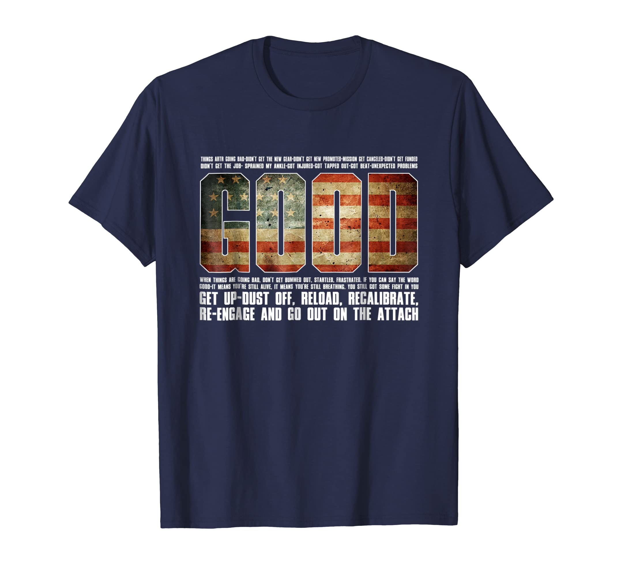 GOOD Motivational Jocko Quote Navy Seal Shirt-azvn