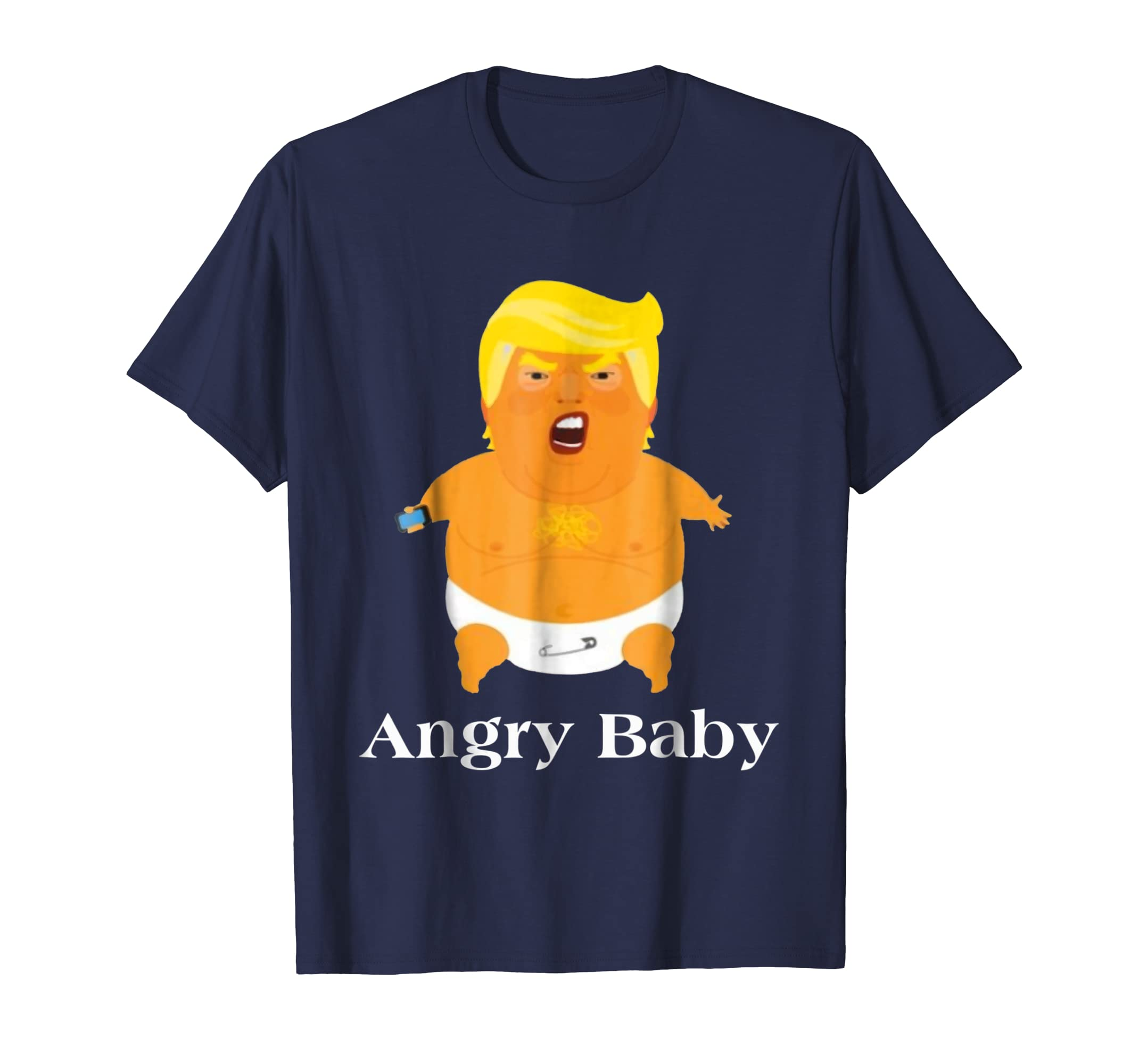 Angry Baby Funny Balloon Anti Trump Impeach T Shirt Ln