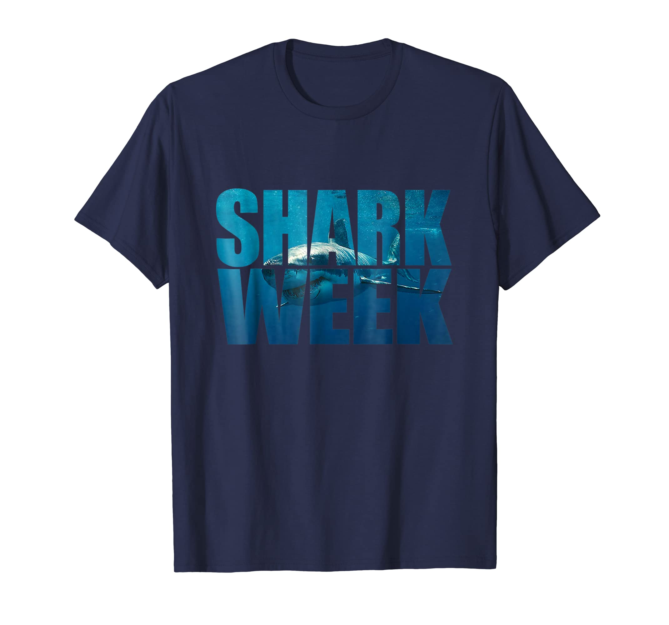 Week of The Shark T-Shirt - New 2018 Novelty Graphic-mt