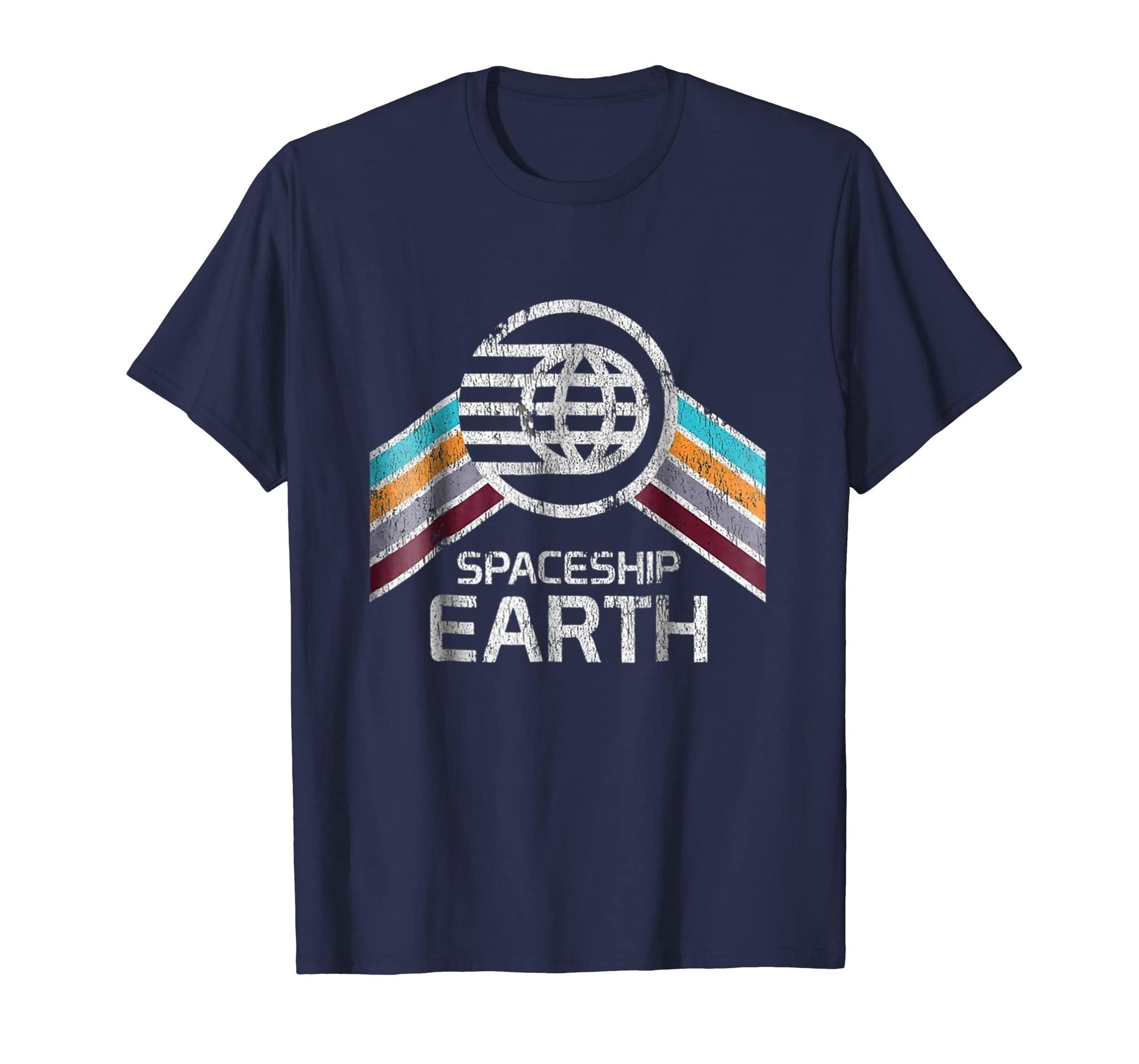 _Vintage  Spaceship Earth with Distressed Logo in Retro_.-ln
