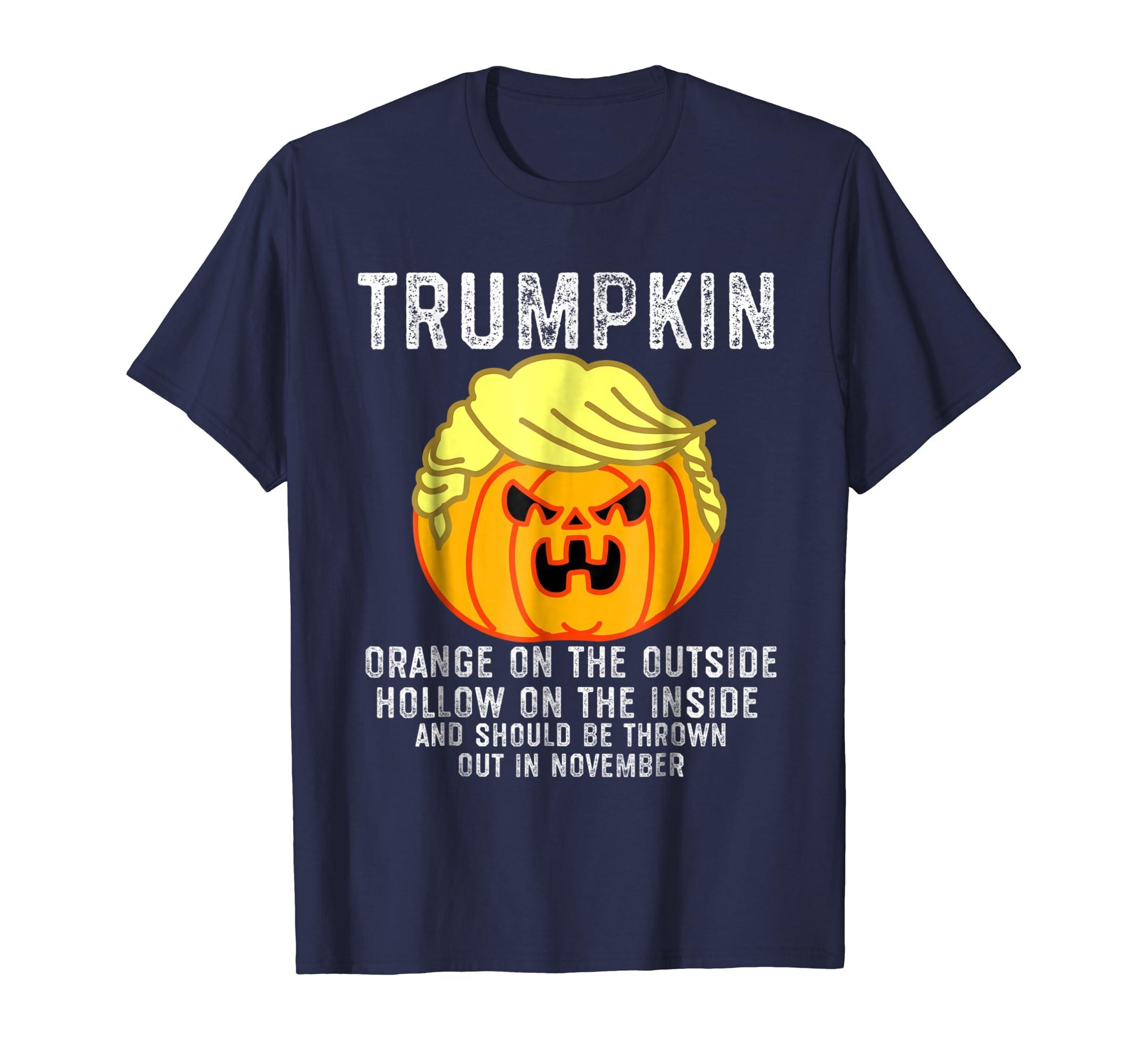 Trumpkin Shirt, Orange on the Outside Hollow on the Inside-Teechatpro