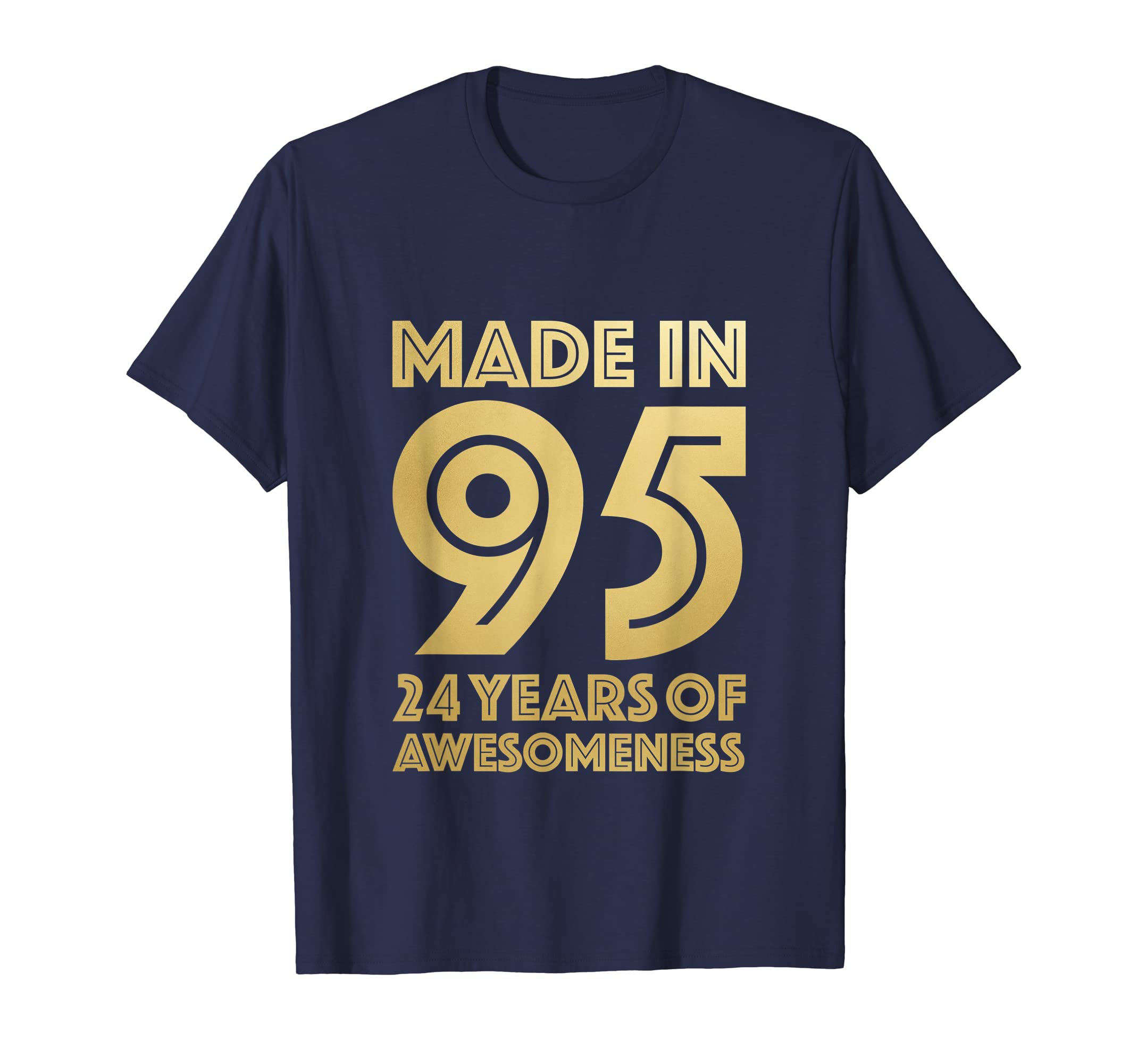 Amazon 24th Birthday Shirt Girl Son Gift Daughter Age 24 Year Old Clothing
