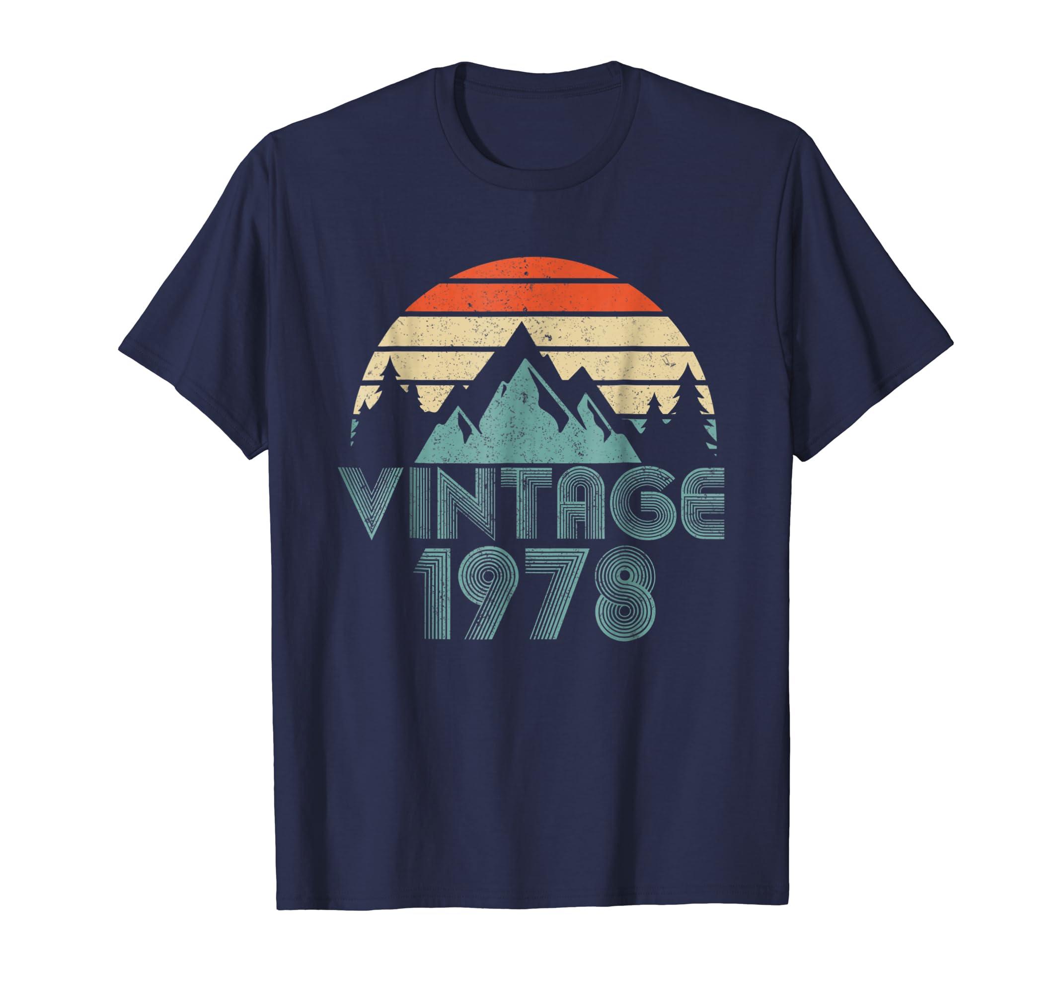 1978 T-Shirt Vintage 40th Birthday day Gift-AZP