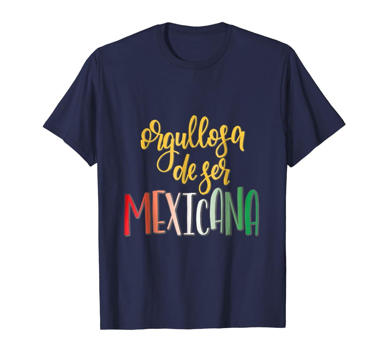 Orgullosa dejer mexicana mexican t shirt