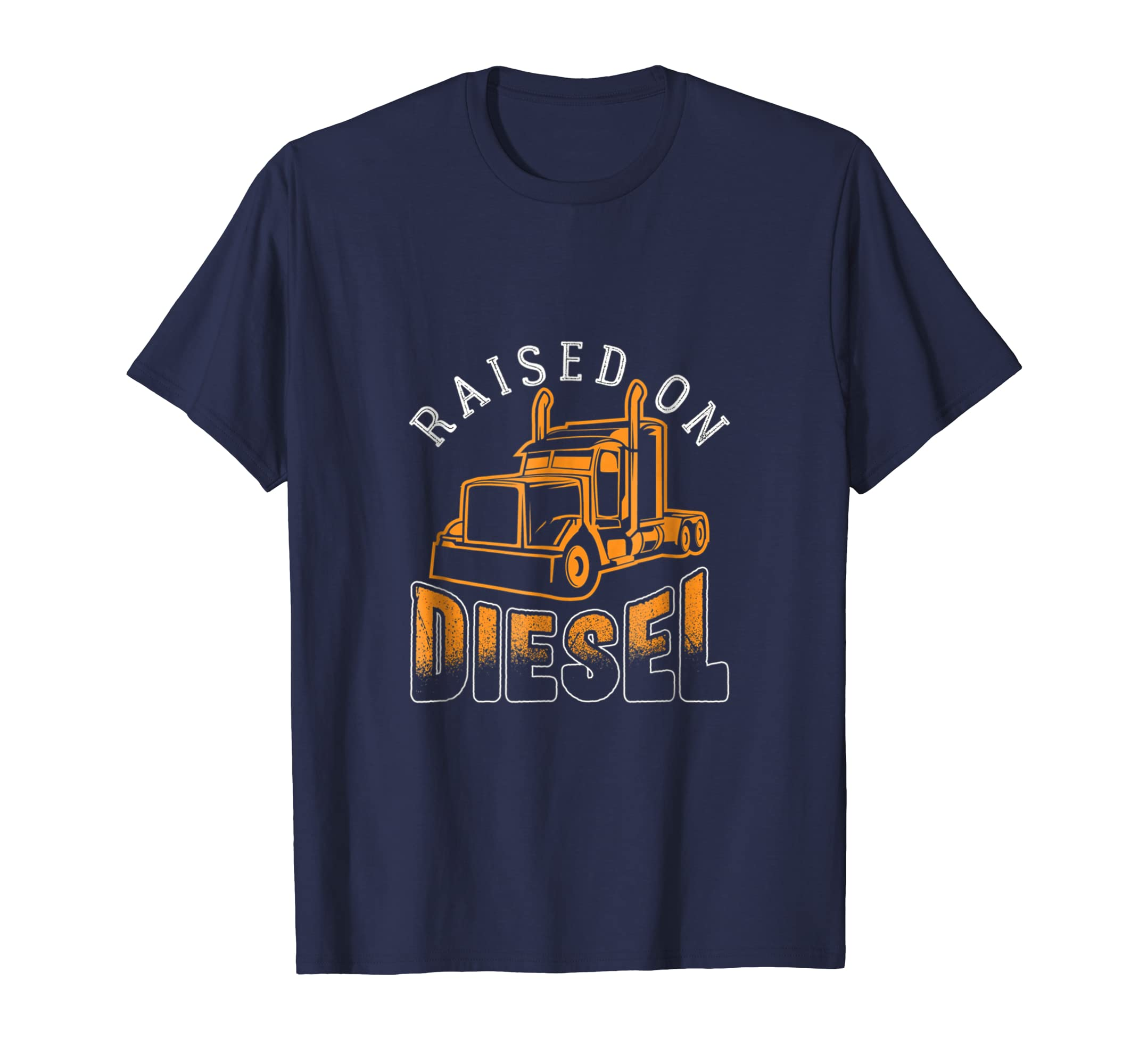 Raised On Diesel - Truck Driver T-shirt-SFL