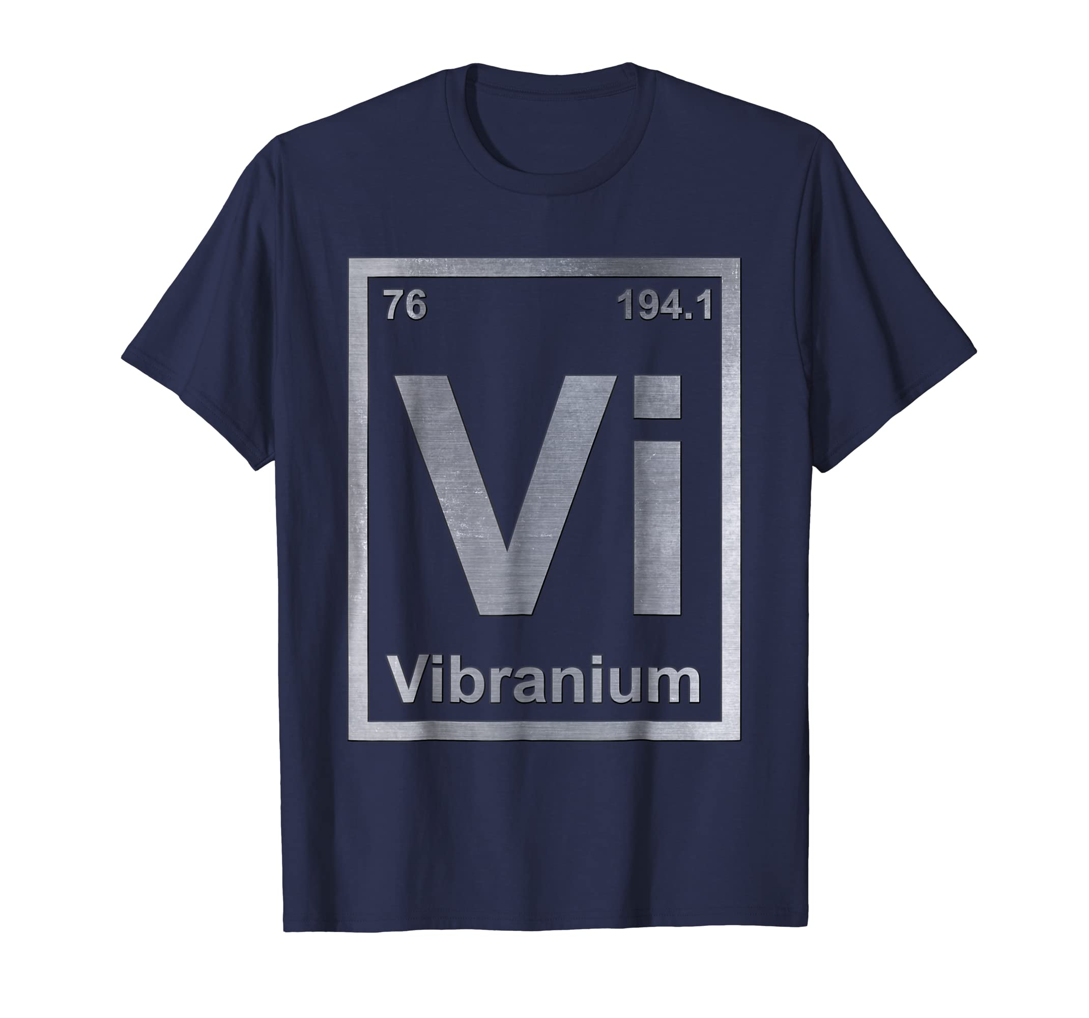 Periodic Element Vibranium Metal Graphic T Shirt-azvn