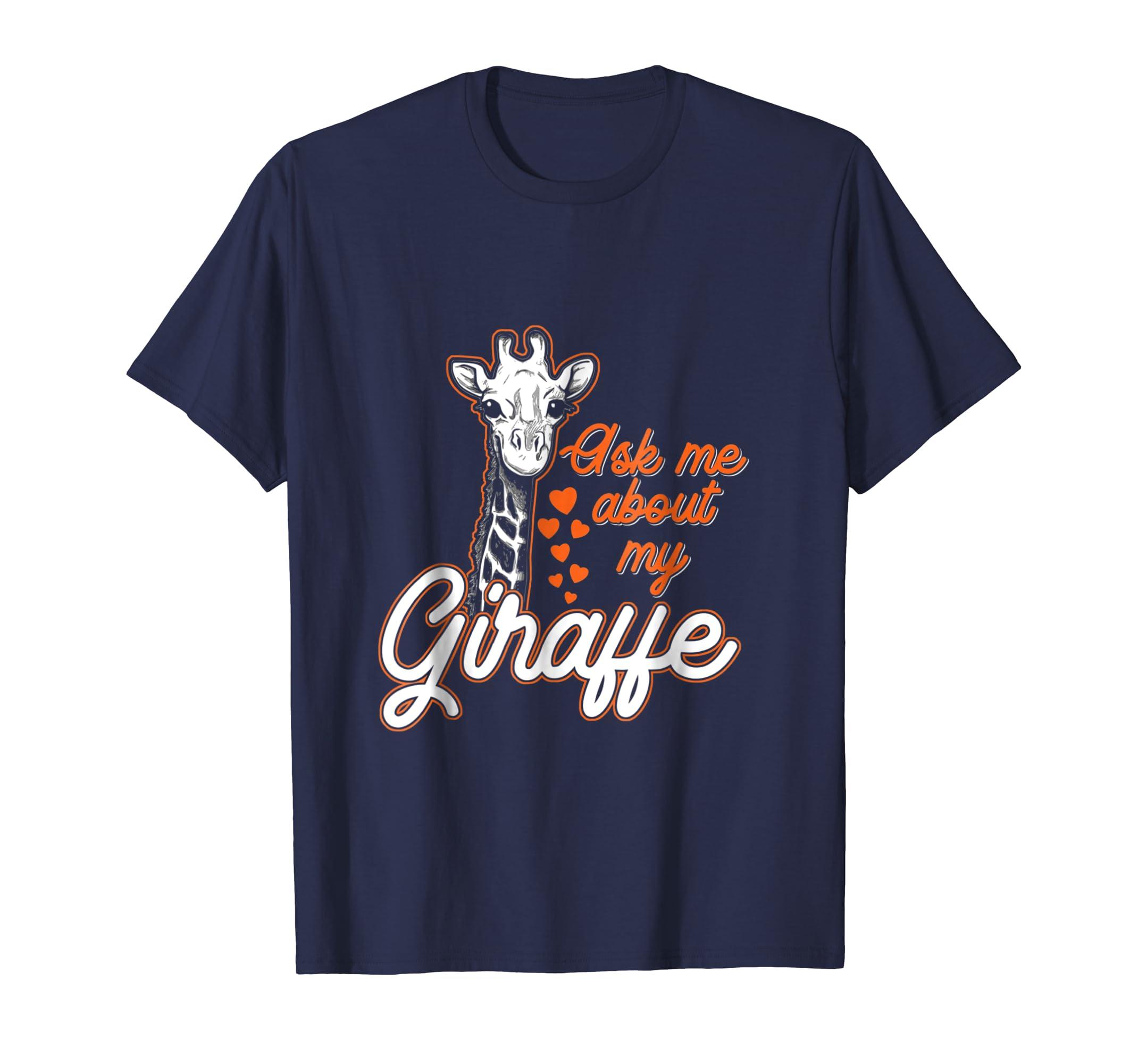 Ask Me About My Giraffe T-Shirt-AZP