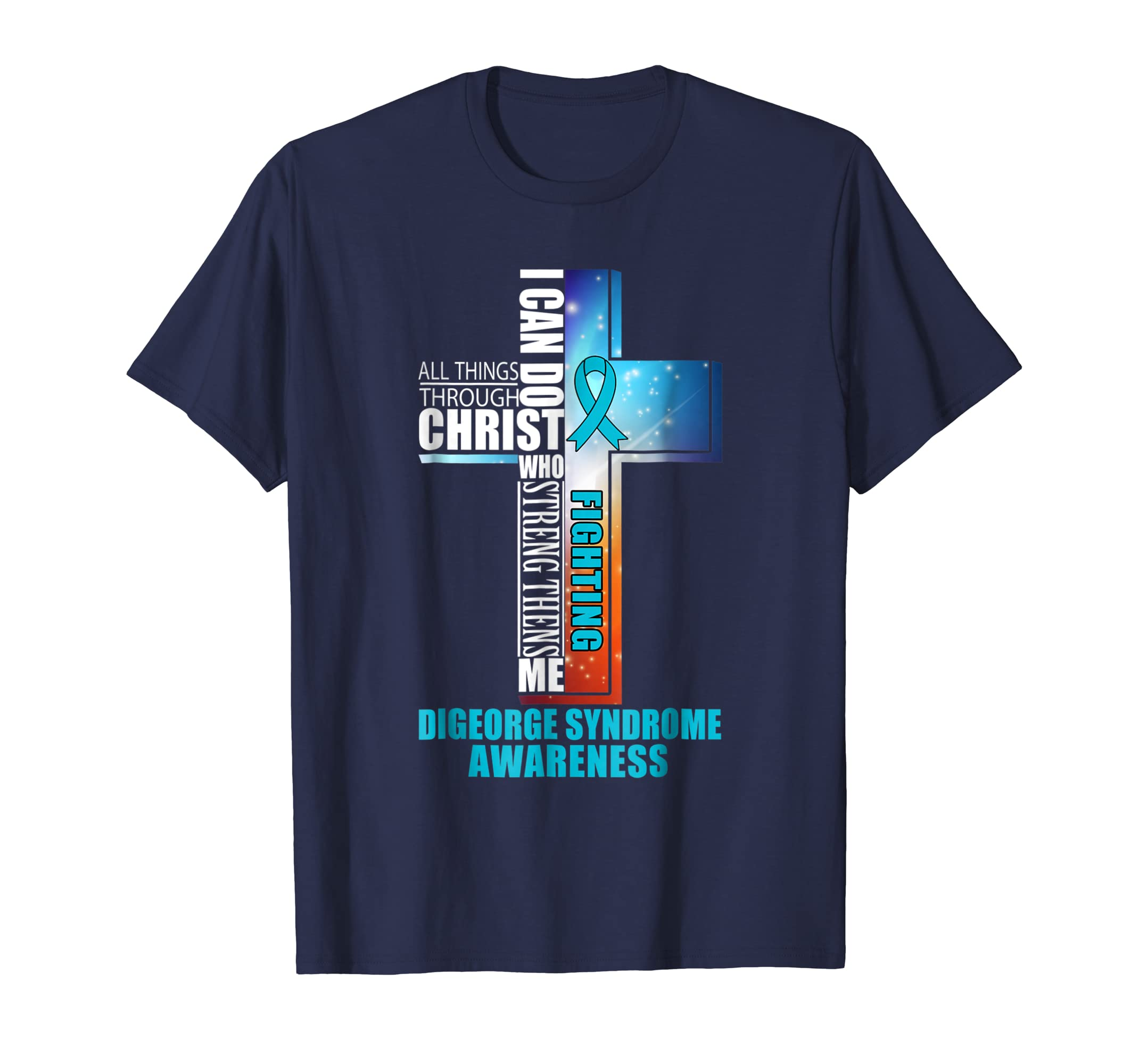 Digeorge Syndrome Warrior Awareness Shirt-azvn