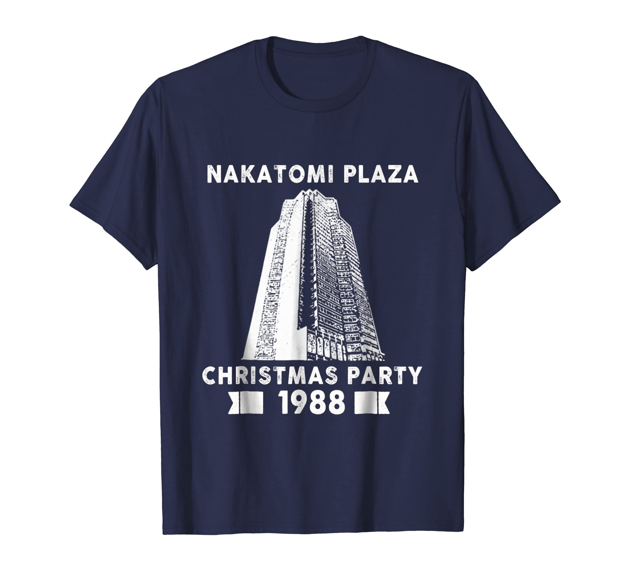 -Nakatomi_Plaza Christmas party 1988 T-Shirt-SFL