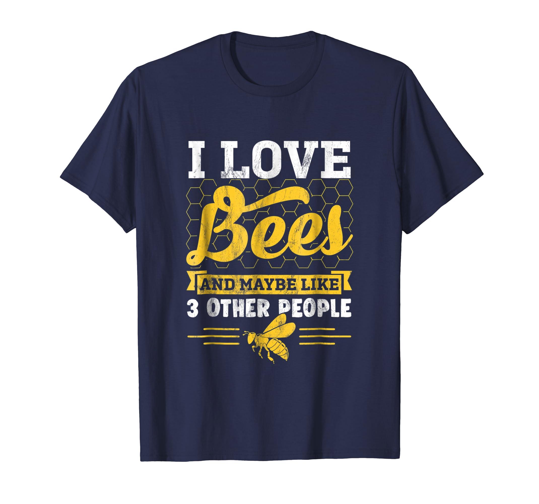 Beekeeper TShirt Gift Idea Honey Bee Keeping Farm Gift-Awarplus