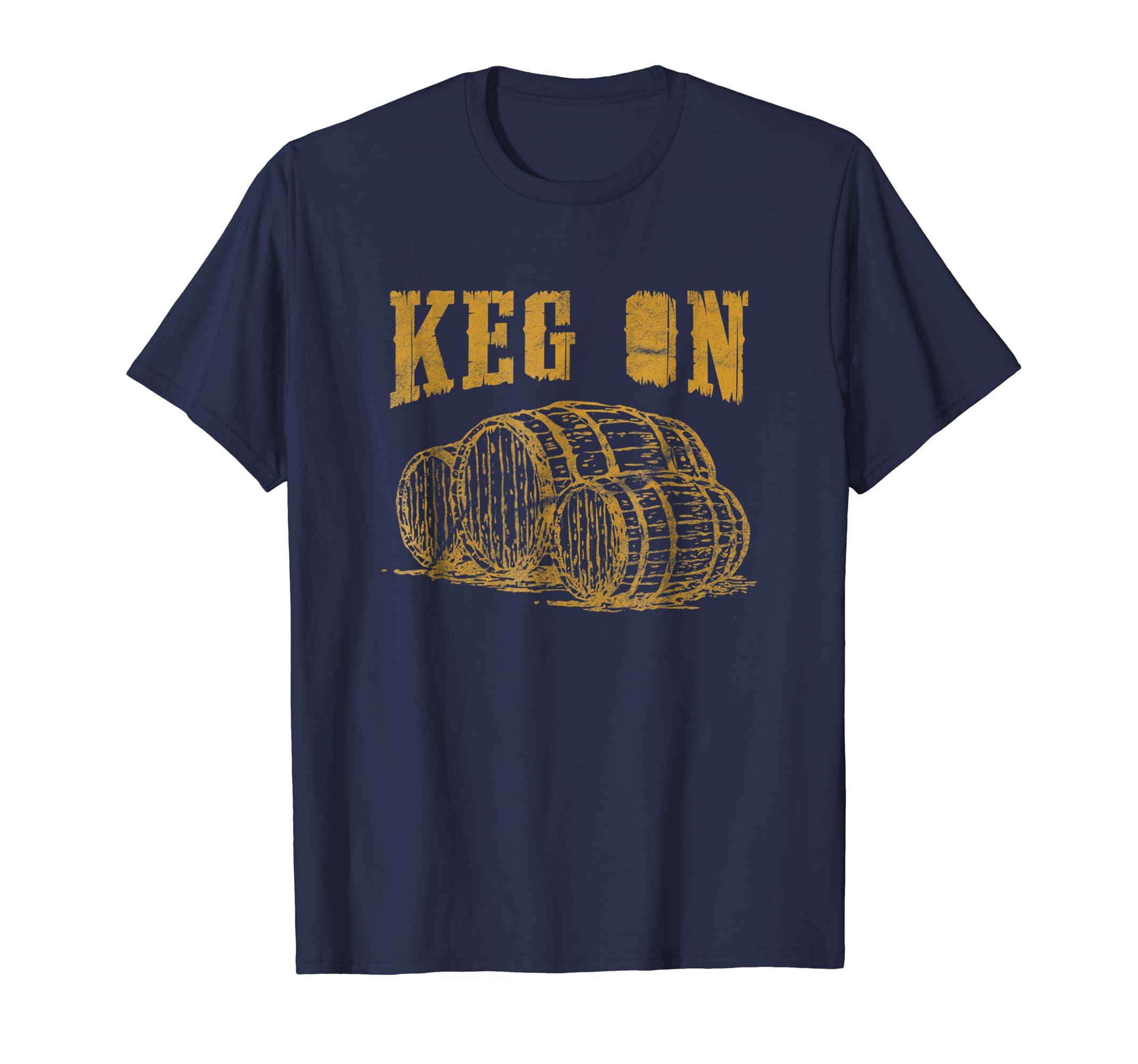 'KEG ON ' Cool International Beer Day Drinking Beer Shirt-AZP