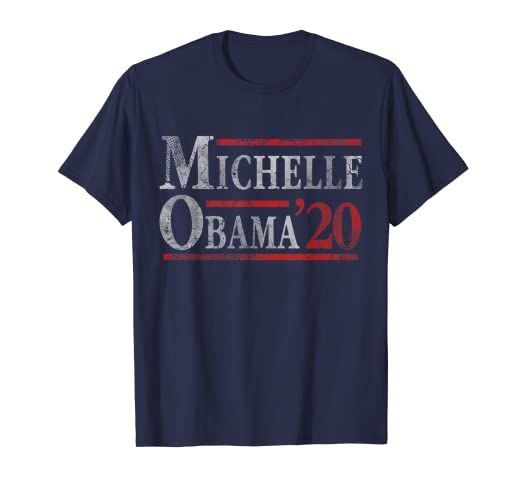 365147e8 Image Unavailable. Image not available for. Color: Vote For Michelle Obama  2020 Election T-Shirt
