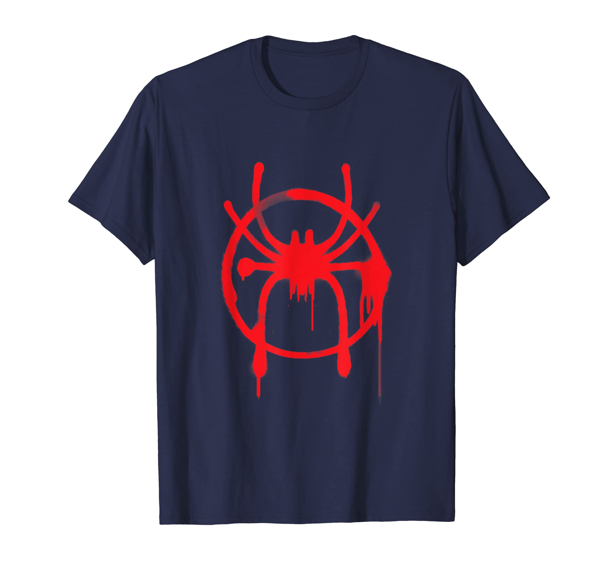 0064101d Marvel Spider-Man Into the Spider-Verse Miles T-Shirt: Amazon.co.uk:  Clothing