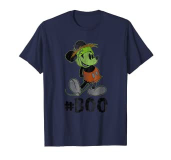 5f4defcd603 Image Unavailable. Image not available for. Color  Disney Mickey Mouse Halloween  Boo T-Shirt