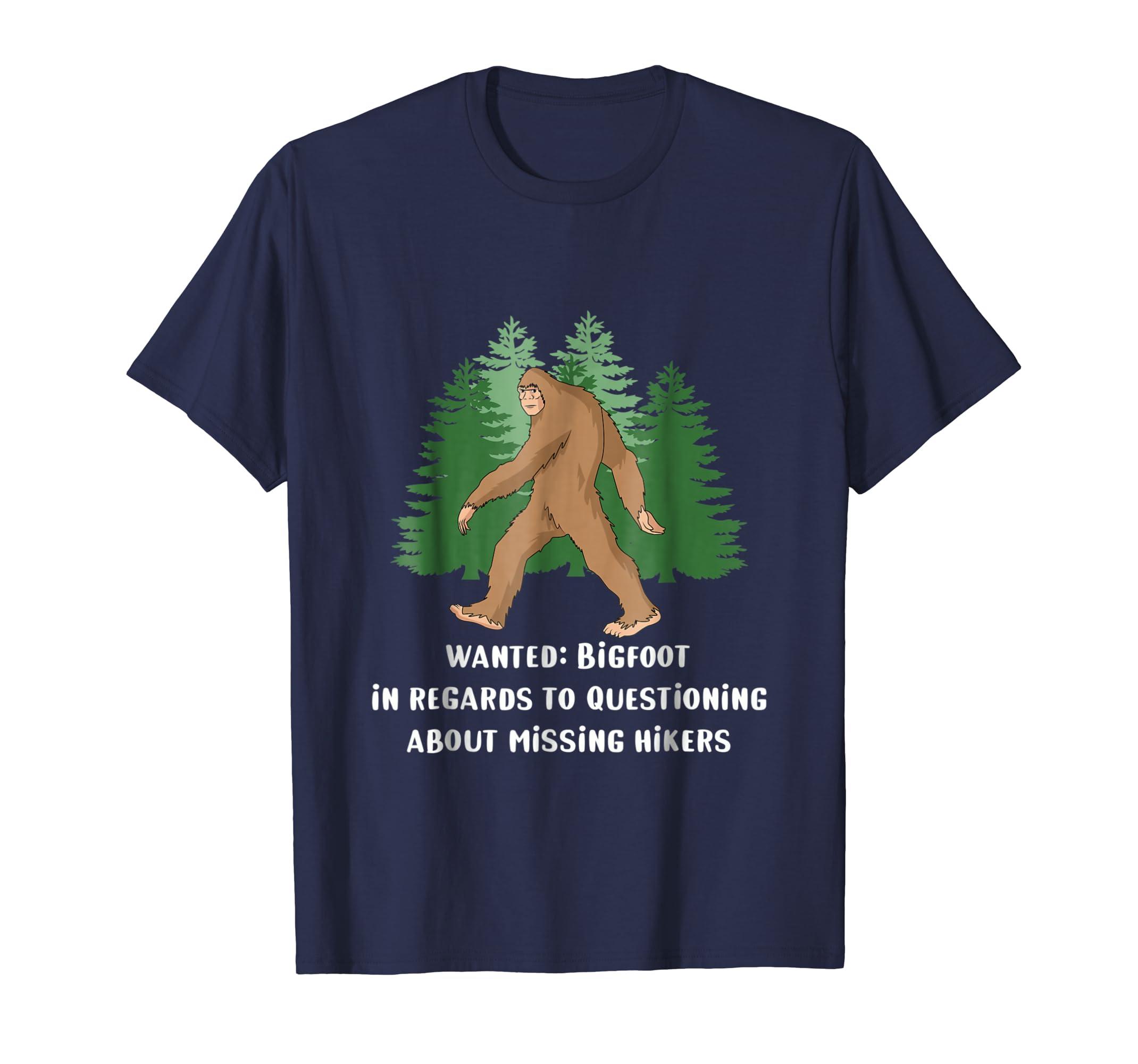 Missing Hikers Bigfoot Shirt-AZP