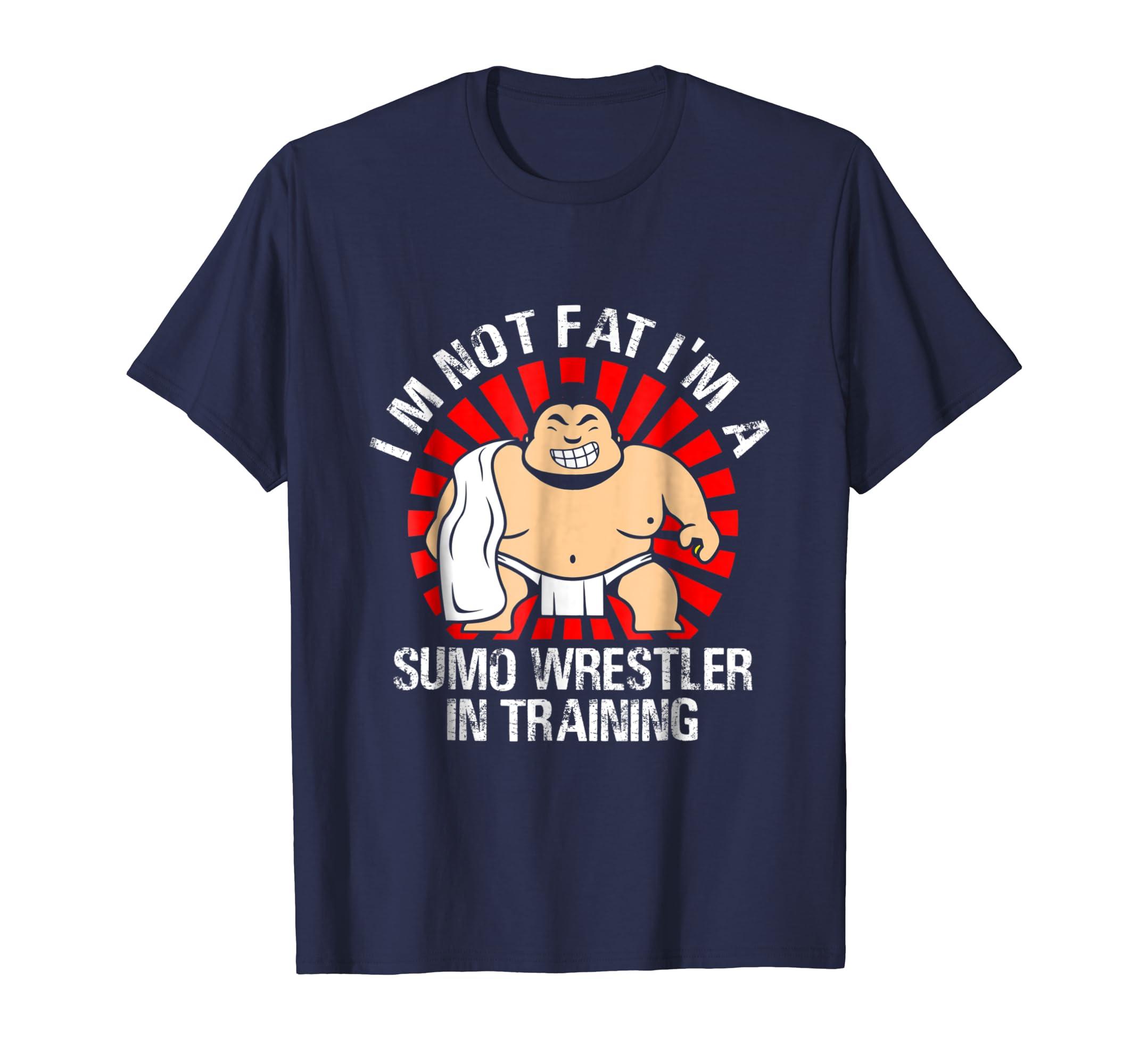 Sumo Wrestler Wrestling Shirt-ln