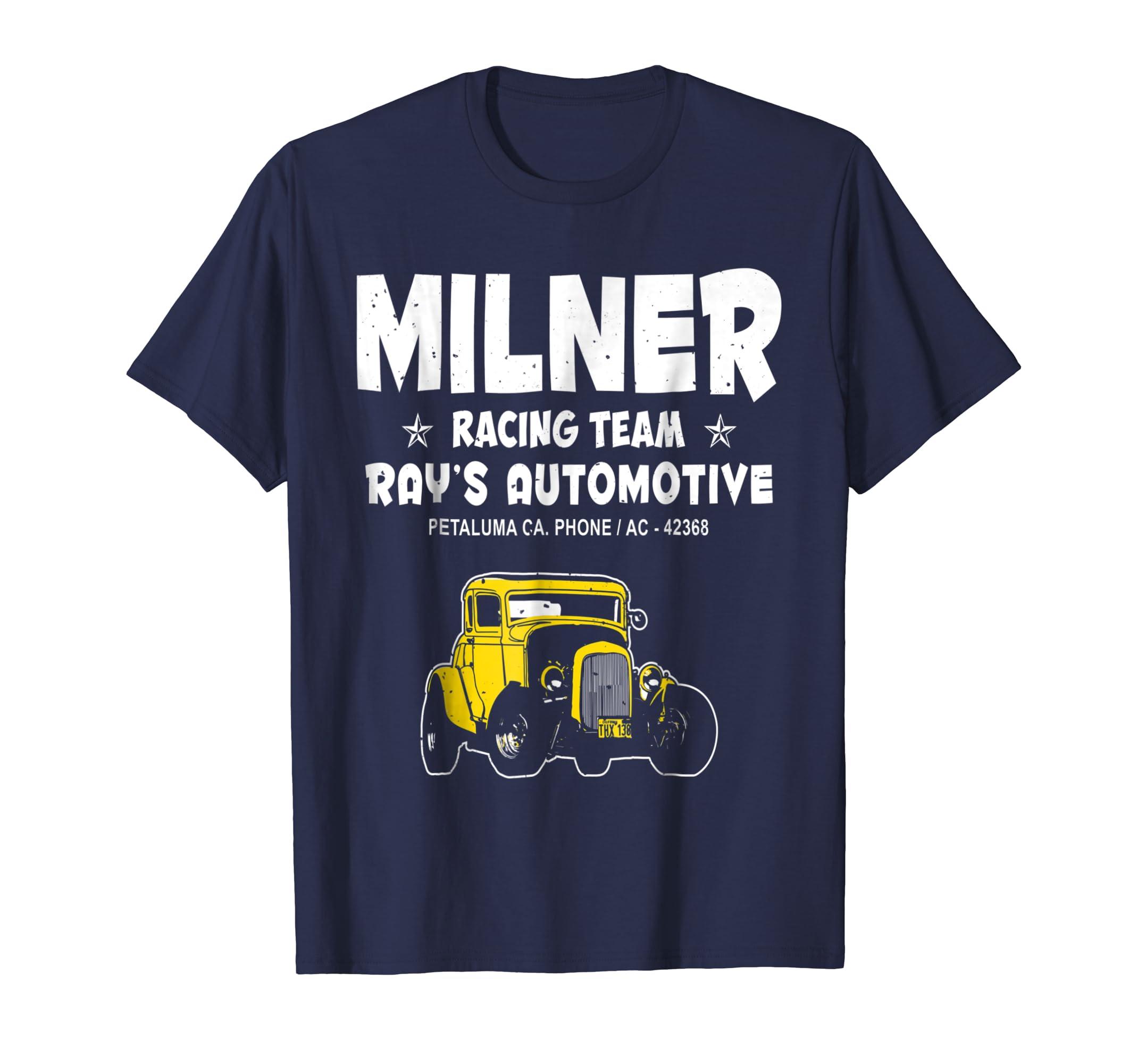 Milner Racing Team Tshirt-Colonhue