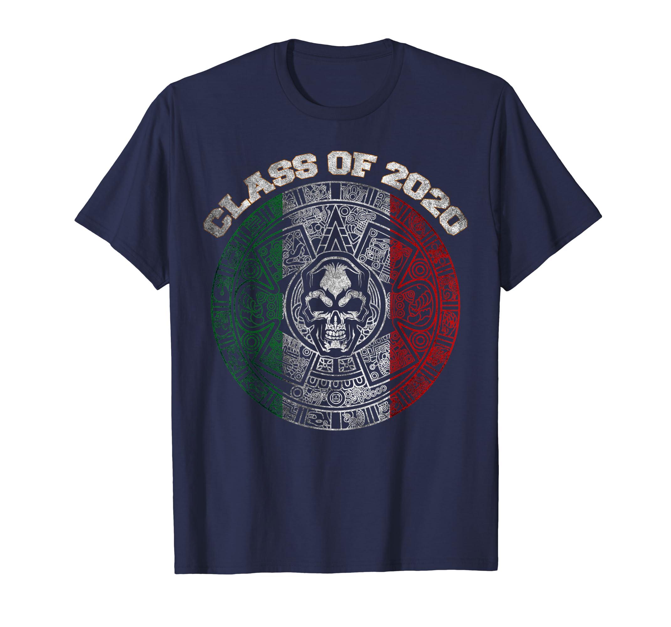 Mexican Calendar 2020 Amazon.com: Class of 2020 Aztec Mayan Calendar Skull Mexican