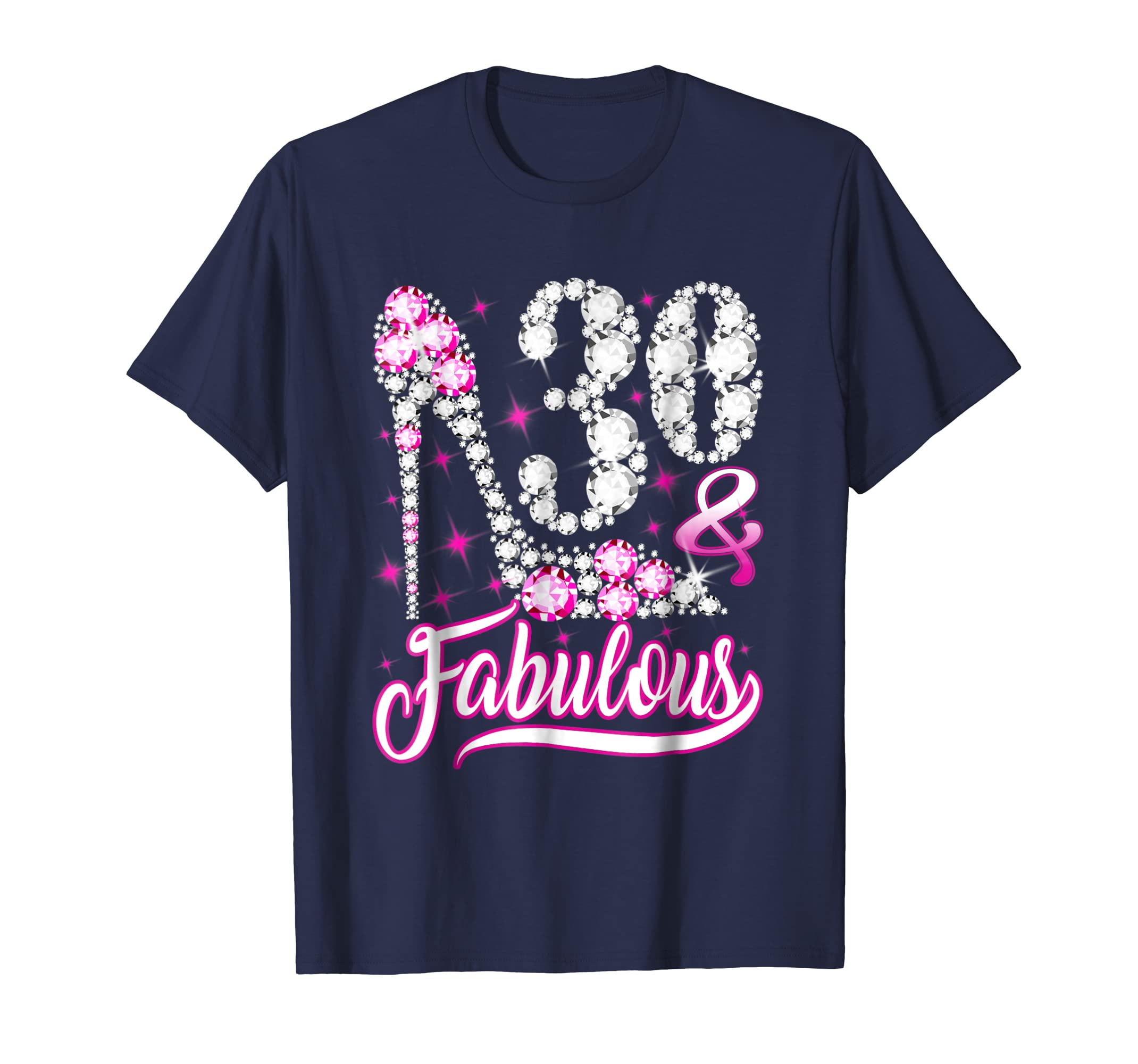 0f440359 Amazon.com: 30 and Fabulous T-Shirt 30th Birthday Gift Women: Clothing