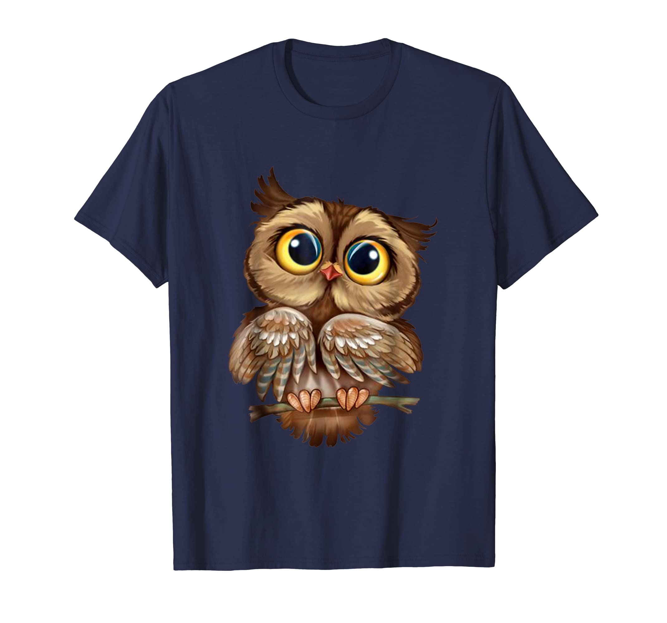 Owl Cute Owl Shirt For Women Girls-mt