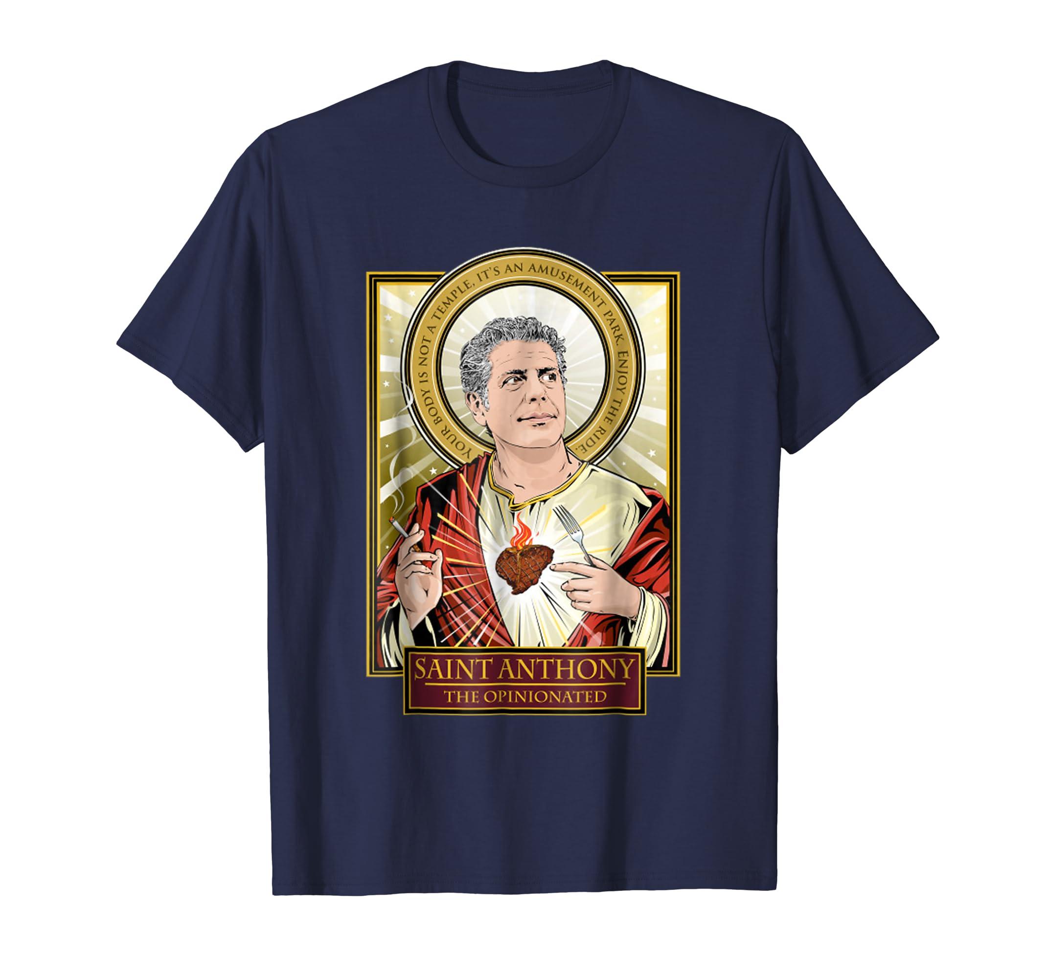 Saint Anthony The Opinionated T-Shirt-fa