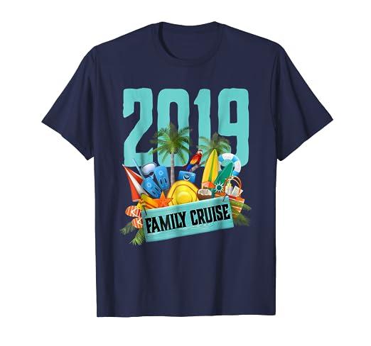 64549fa039eb9b Amazon.com  Family Cruise T-Shirt 2019  Clothing