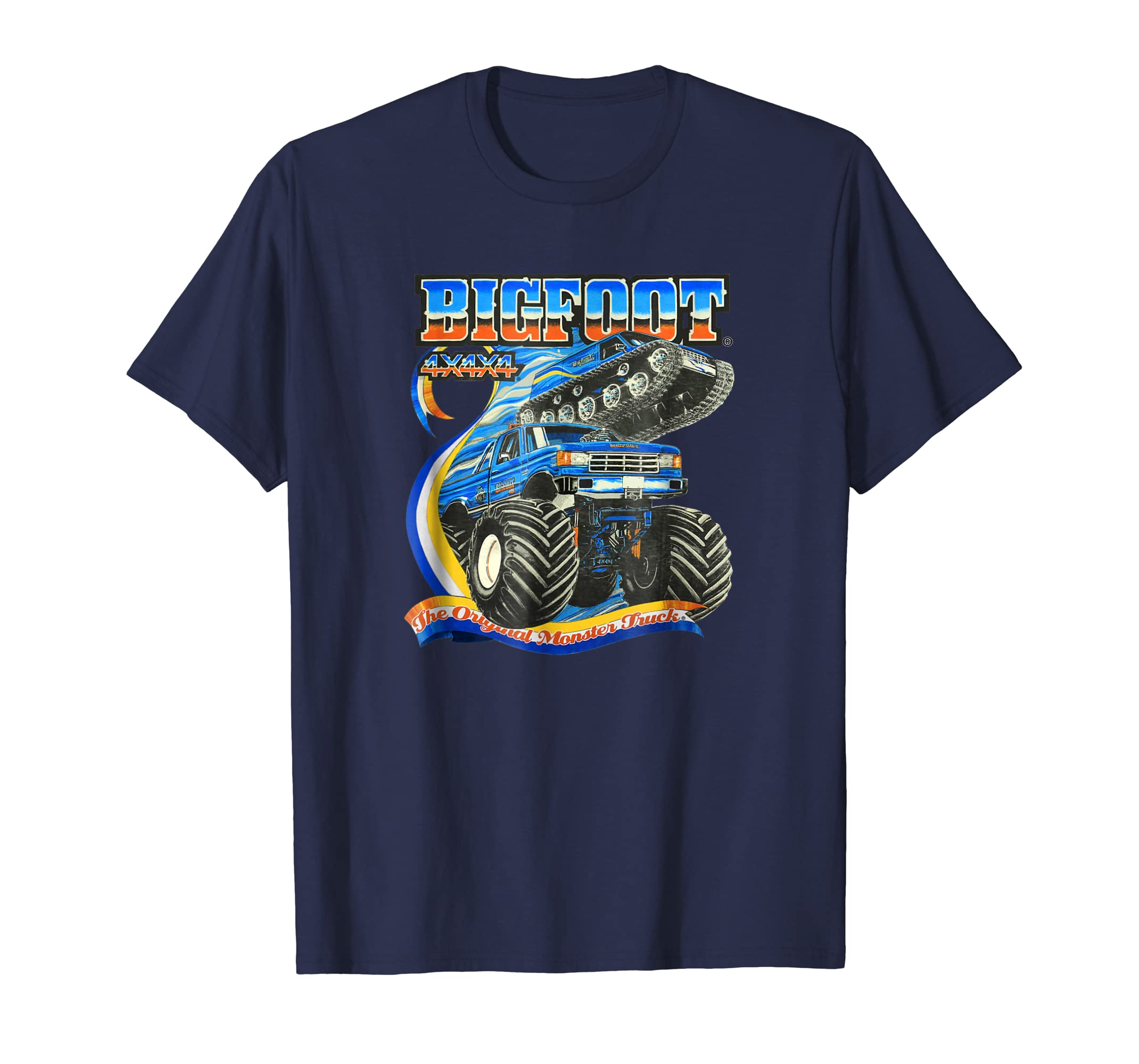 BIGFOOT Fastrax & 80s BIGFOOT T Shirt (color options 1)-azvn