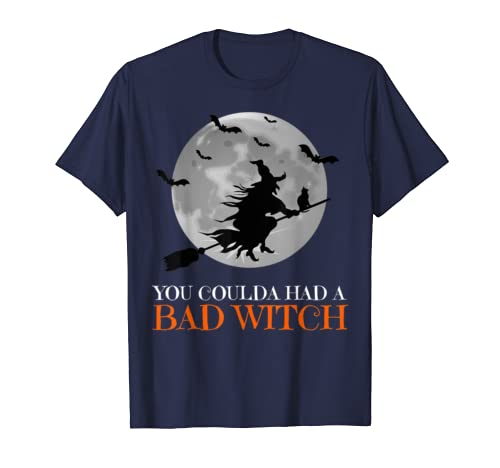 You Coulda Had A Bad Witch Vintage Halloween T Shirt