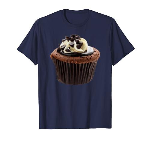 Chocolate Muffin Diy Halloween Night Party Costume Tee T Shirt