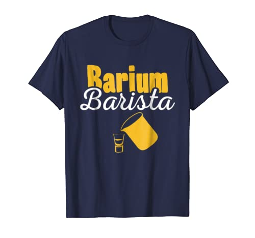 X-Ray T-Shirt Barium Barista Green Shirt For Rad Techs