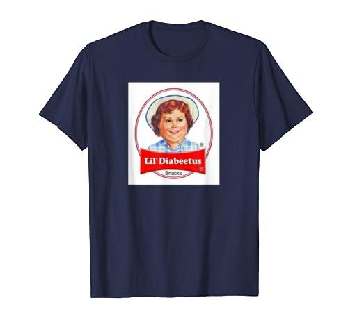 Amazoncom Lil Diabeetus Parody Diabetes Funny Shirt Clothing