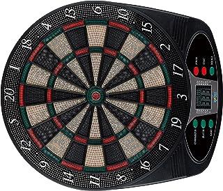 Solex 43317 - Diana electrónica (8 Jugadores, 6 Dardos Suaves, 24 Puntas, 49 x 42 x 3 cm)