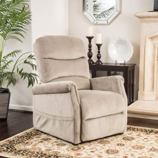 """Christopher Knight Home Alan Lift Up Chair and Recliner, 33.08""""D x 36.23""""W x 40.95""""H, Latte"""