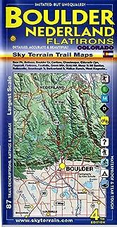 Boulder Nederland Trail Map 4th Edition