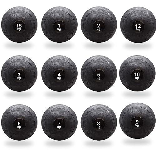 BodyRip Medicine Slam Wall Ball 1kg 2kg 3kg 4kg 5kg 6kg 7kg 8kg 9kg 10kg 12kg 15kg