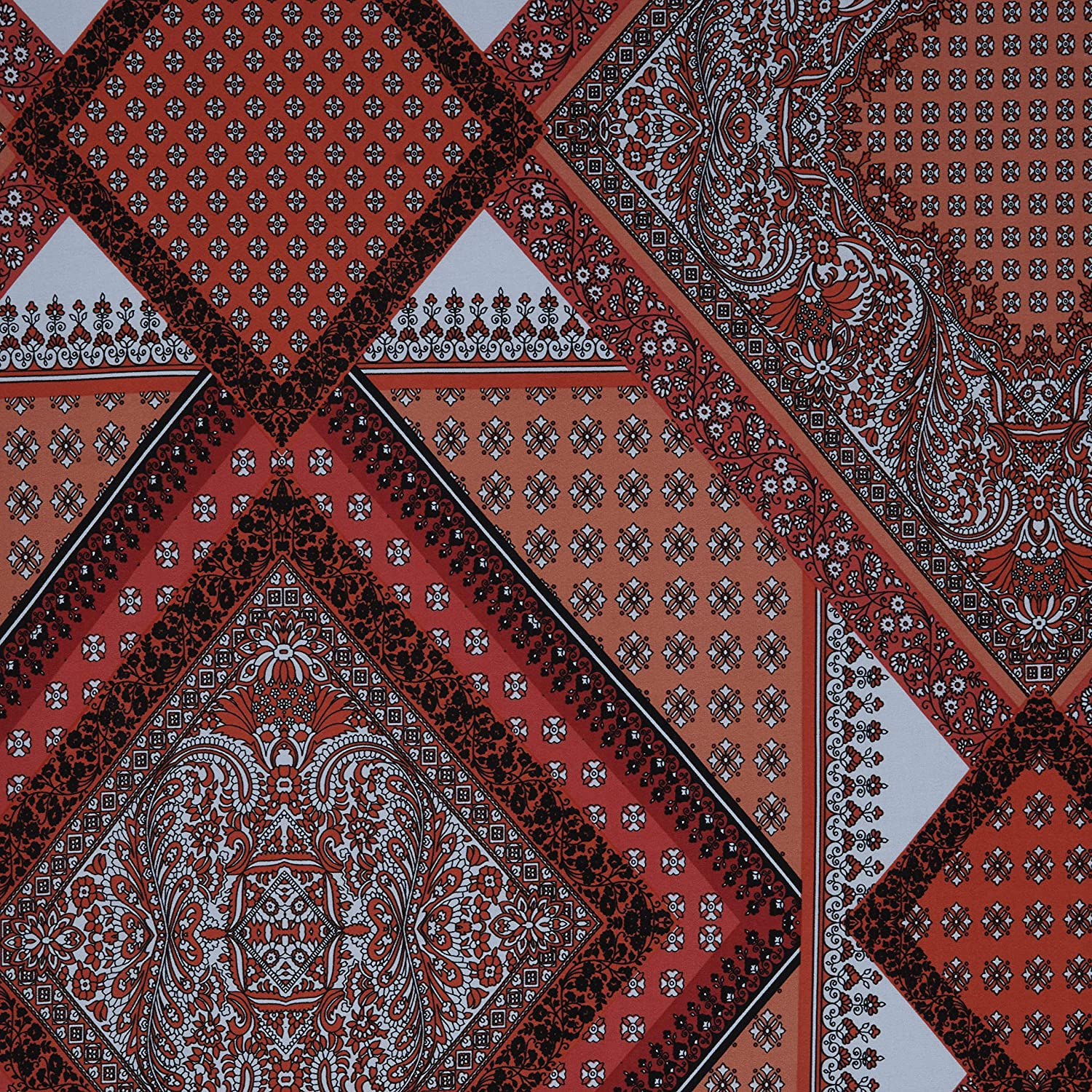 Fabtrends Ity All items in the store Paisley Coral Border Max 44% OFF