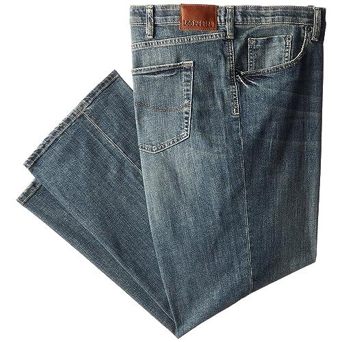 LEE Mens Big-Tall Modern Series Custom-fit Relaxed Straight-Leg Jean