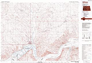 YellowMaps Williston ND topo map, 1:100000 Scale, 30 X 60 Minute, Historical, 1983, Updated 1984, 24.1 x 35.8 in