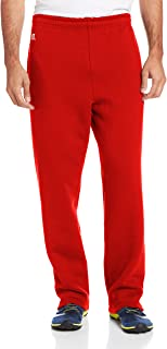 596HBM Unisex Adult Dri-Power Open-Bottom Fleece Pocket Pant