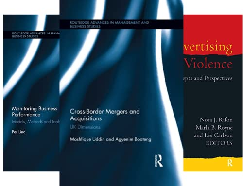 Routledge Advances in Management and Business Studies (51-91) (41 Book Series)