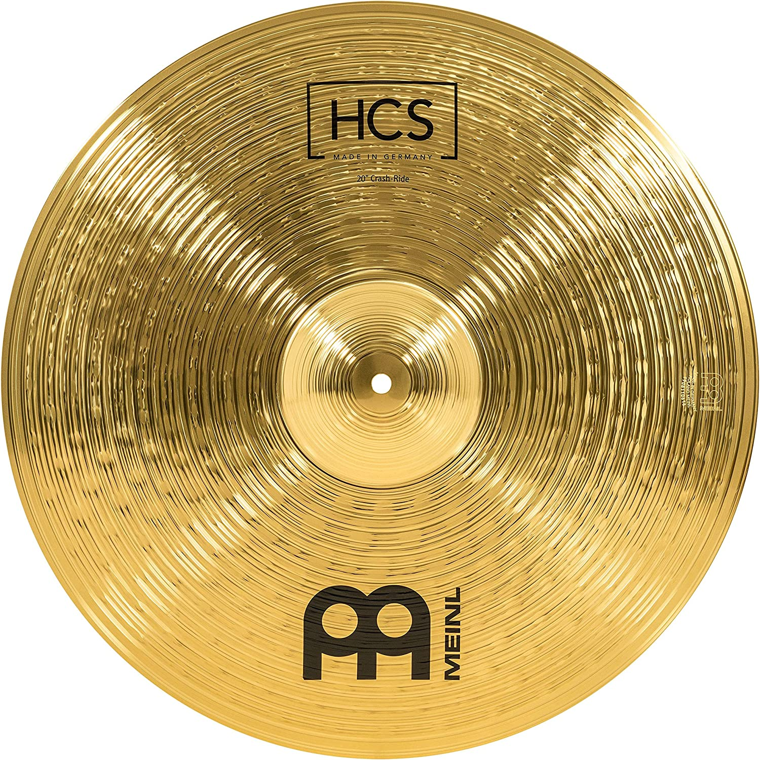 """Meinl Cymbals 5 ☆ popular 20"""" Crash-Ride – Traditional Brass Genuine for HCS Finish"""