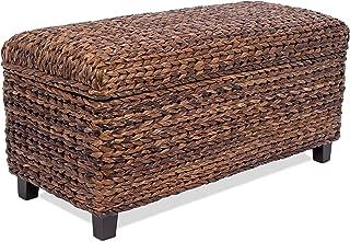 Best seagrass bench storage Reviews