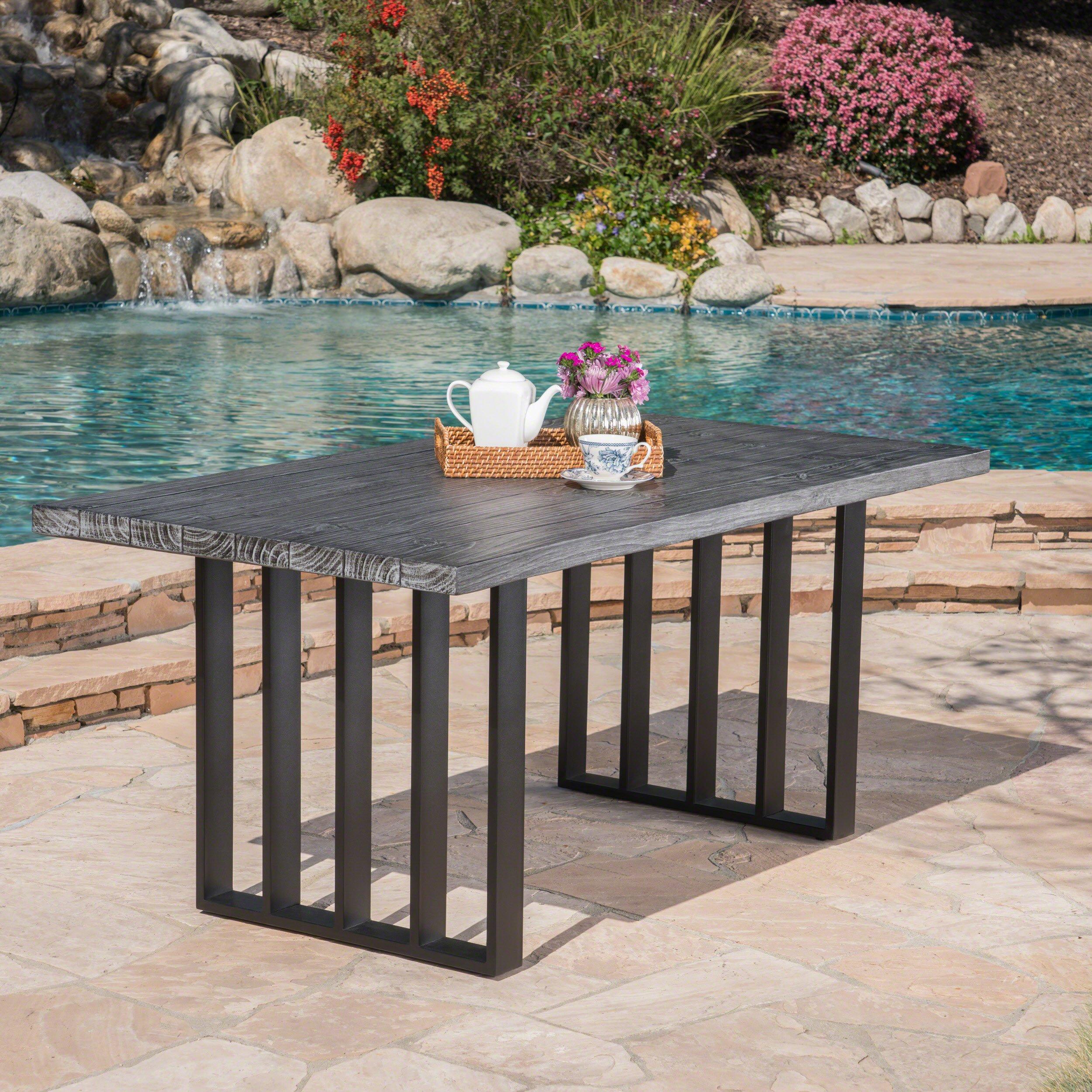 concrete patio table amazon com rh amazon com concrete patio table top diy concrete patio table plans
