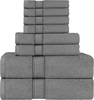 Utopia Towels - Ensemble de Serviettes de Bain en 100% Coton - 2 Serviettes de Bain, 2 essuie Main et 4 débarbouillettes (...