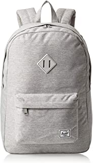 Herschel 10007-02041-Os Heritage Unisex Casual Daypacks Backpack - Light Grey Crosshatch