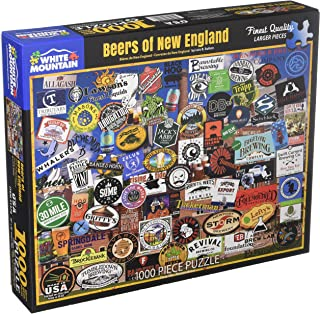 White Mountain Puzzles Beers of New England Jigsaw Puzzle, Multicolor