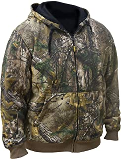 DEWALT DCHJ074D1-L Realtree Xtra️ Camouflage Heated Hoodie, Large, Camouflage