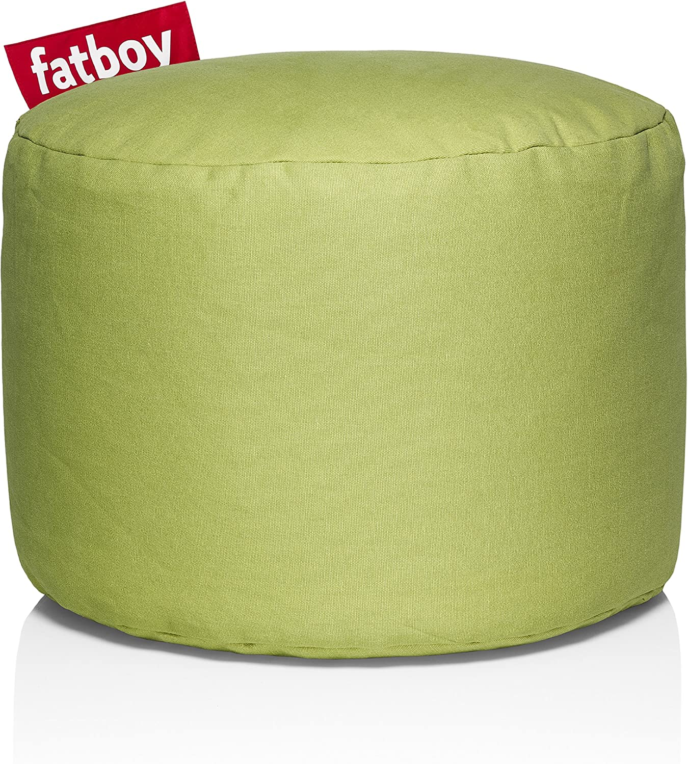 Fatboy Point Stonewashed Bean Bag, Lime Green